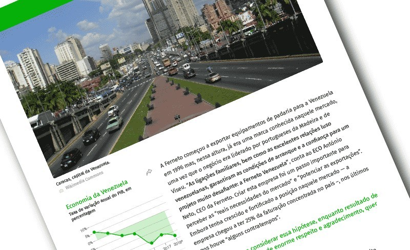 "Article published in ECO – Online ""Jornal Económico"" / February 2019"