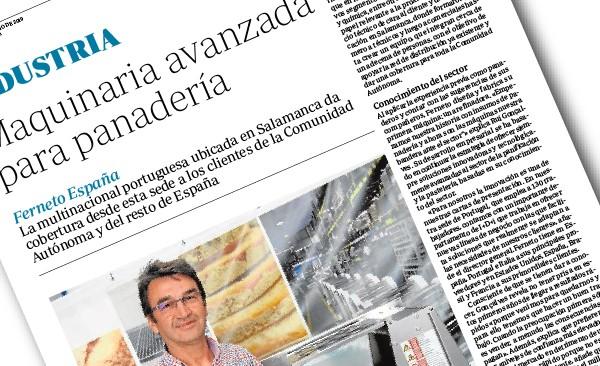 """Artigo publicado no Jornal """"ABC Castilla y León"""" – Junho 2019"""