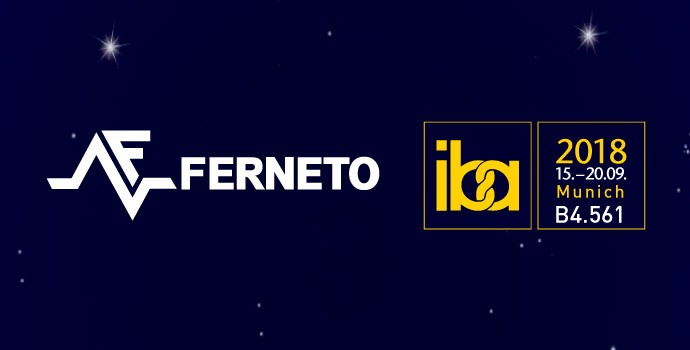 Ferneto, always connected: IBA 2018