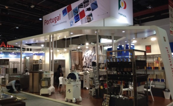 GULFOOD 2015 with Portuguese presence highlighted.