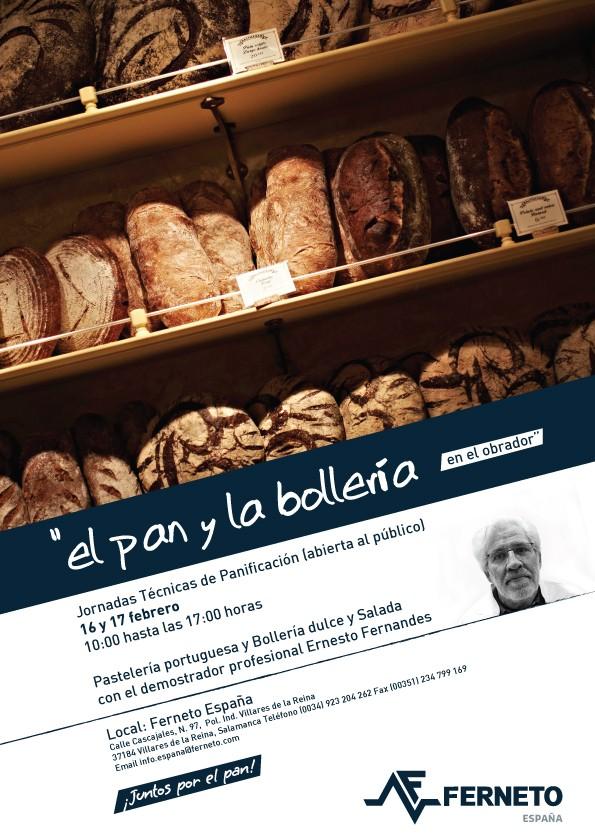 Jornadas Técnicas de Panificação 2016: Ferneto España