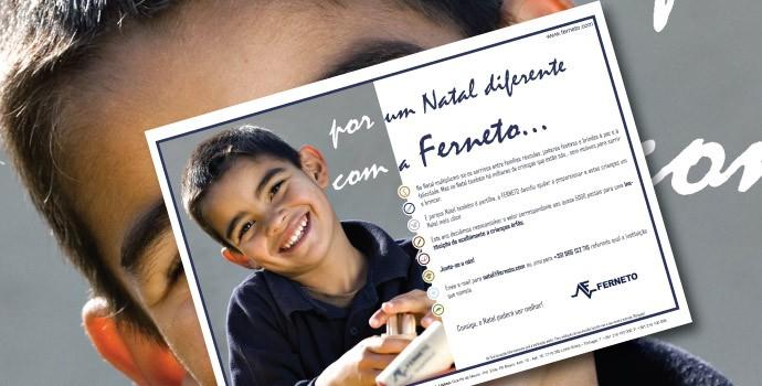 Campanha de Natal Ferneto: Novos Sorrisos – 2009