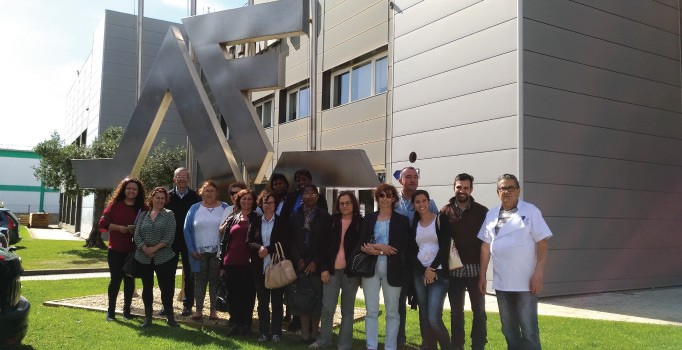 A group from CFPSA in Coimbra visits Ferneto