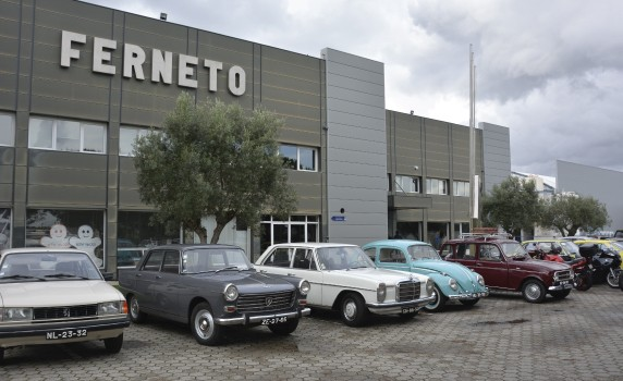 Charity vintage car meeting at Ferneto